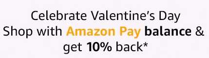 Amazon Valentine's Day Shop with Amazon Pay Balance Get 10 Back